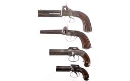 Four Handguns