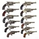 Twelve Spur Trigger Revolvers