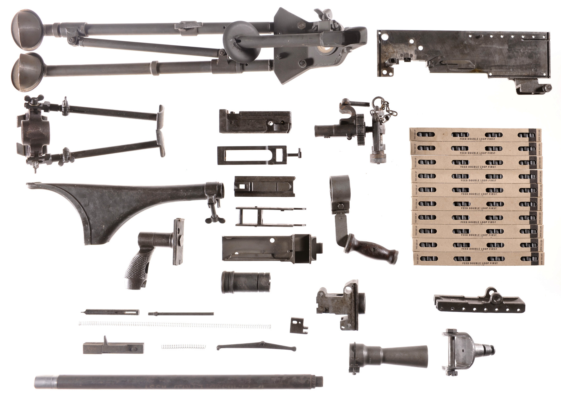 Assorted Browning M1919 Parts