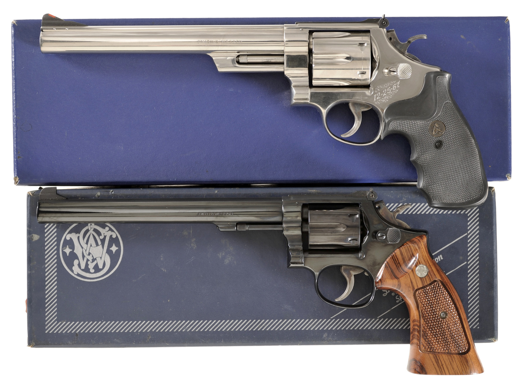 Two Smith & Wesson Double Action Revolvers -A) Smith & Wesson Mo