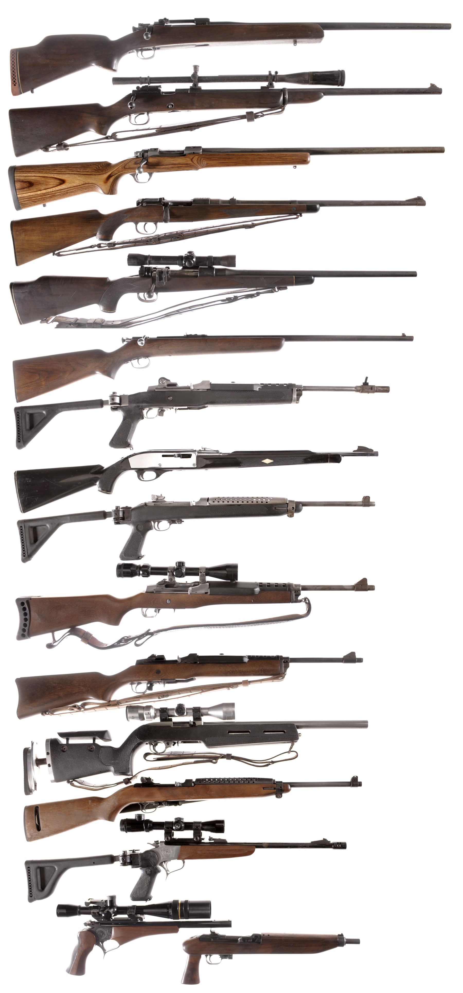 Sixteen Firearms