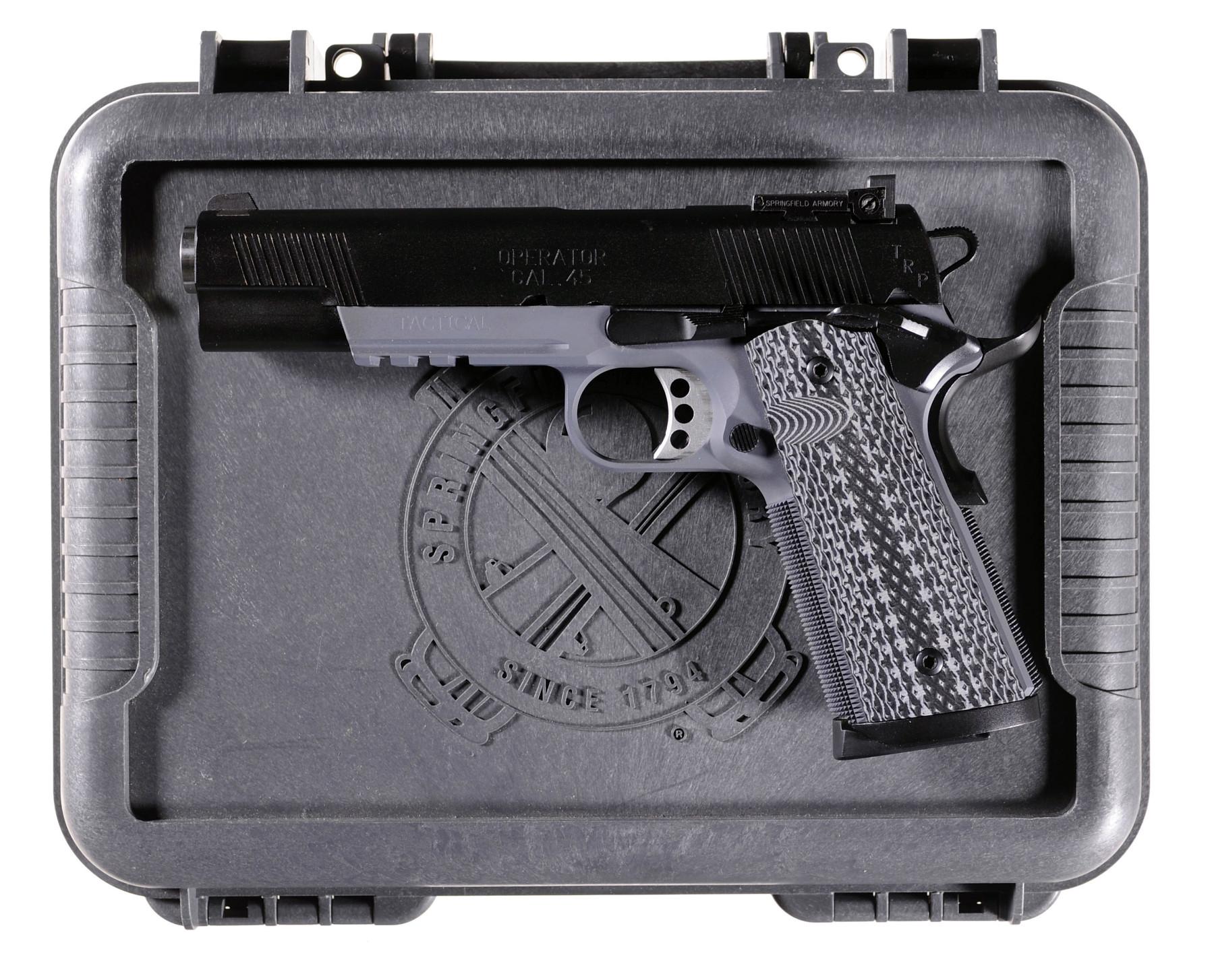 Springfield Armory U S  TRP Operator Pistol 45 ACP