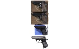 Four Semi-Automatic Pistols