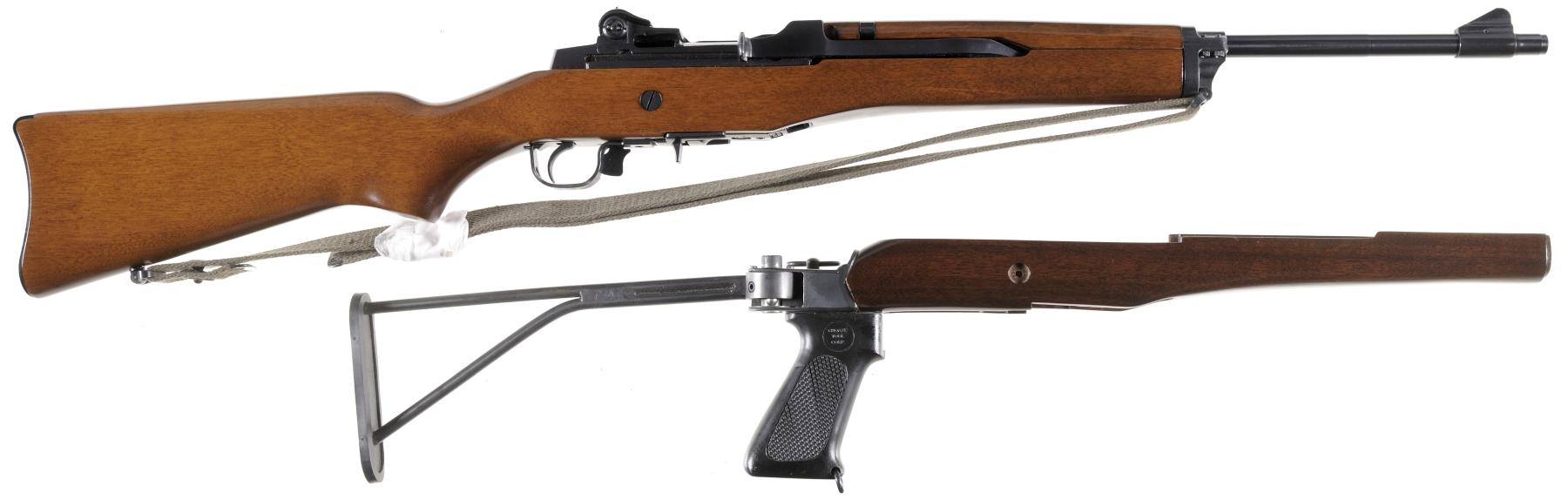 Ruger Mini-14 Semi-Automatic Carbine with Accessories