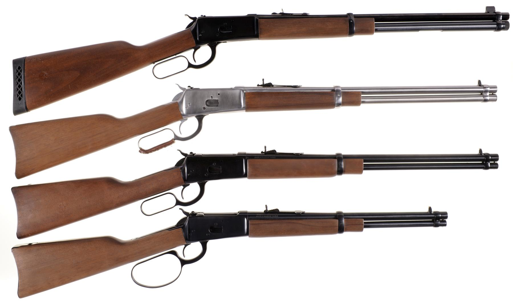 Four Rossi Lever Action Long Guns -A) Rossi Puma Model 92 Rifle