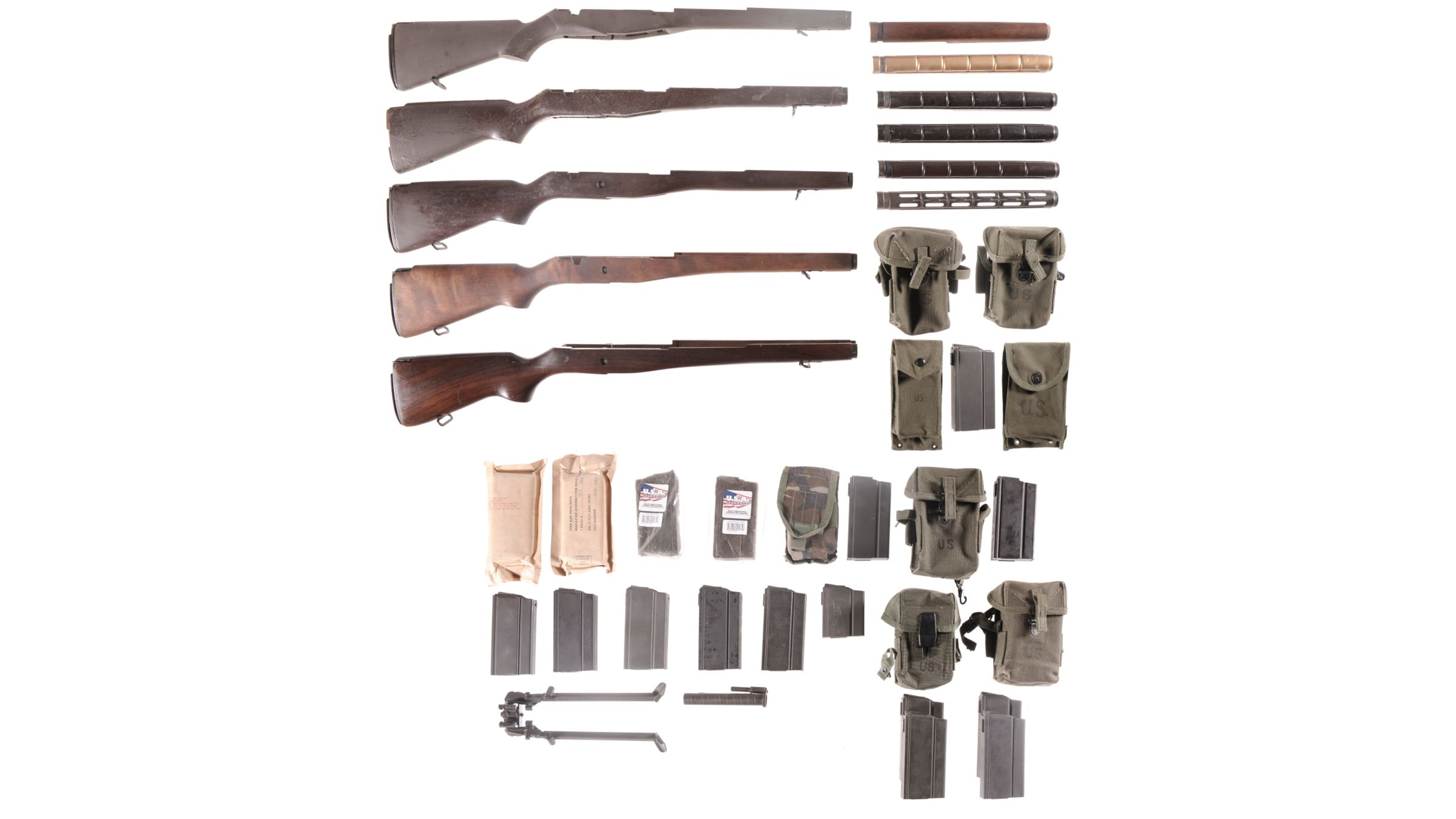 Group of Assorted M1A/M14 Parts