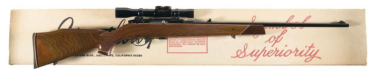 Weatherby Mark XXII Rifle 22 LR