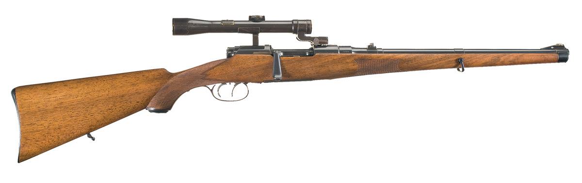Mannlicher-Schoenauer Model 1903 Bolt Action Carbine with Scope