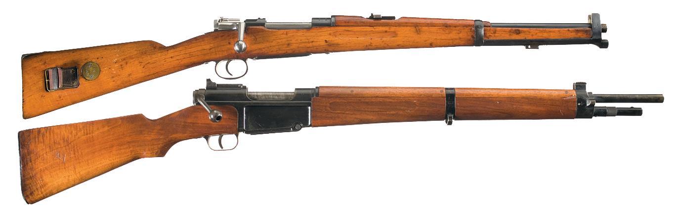 Two European Rifles