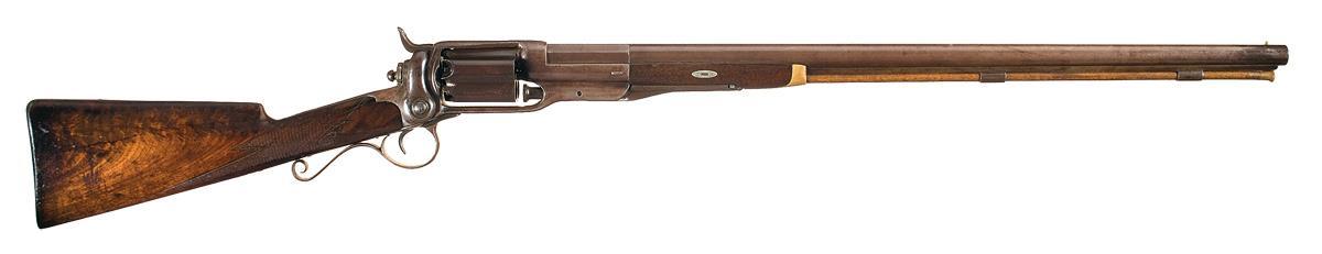 Image result for colt revolving shotgun