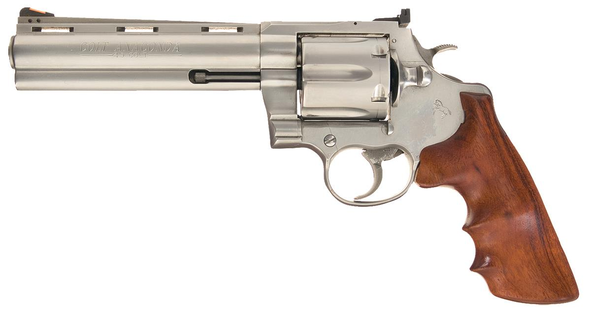 Colt Anaconda Double Action Revolver in  45 Long Colt