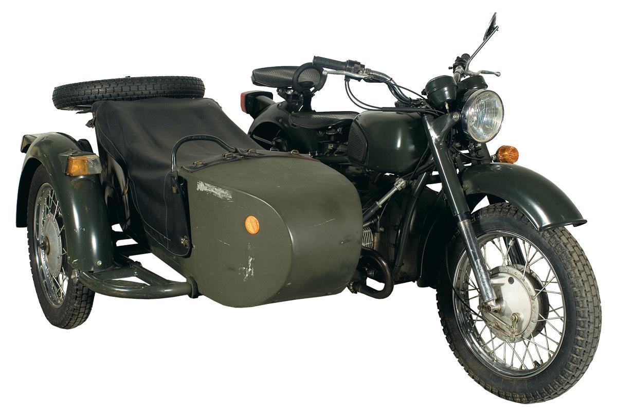 Мотоцикл урал с сумками