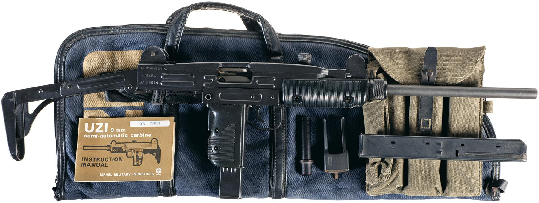 For sale trade imi uzi carbine made in israel 9mm - Sold For Uzi Israeli Military Industries A Carbine Go Full Screen