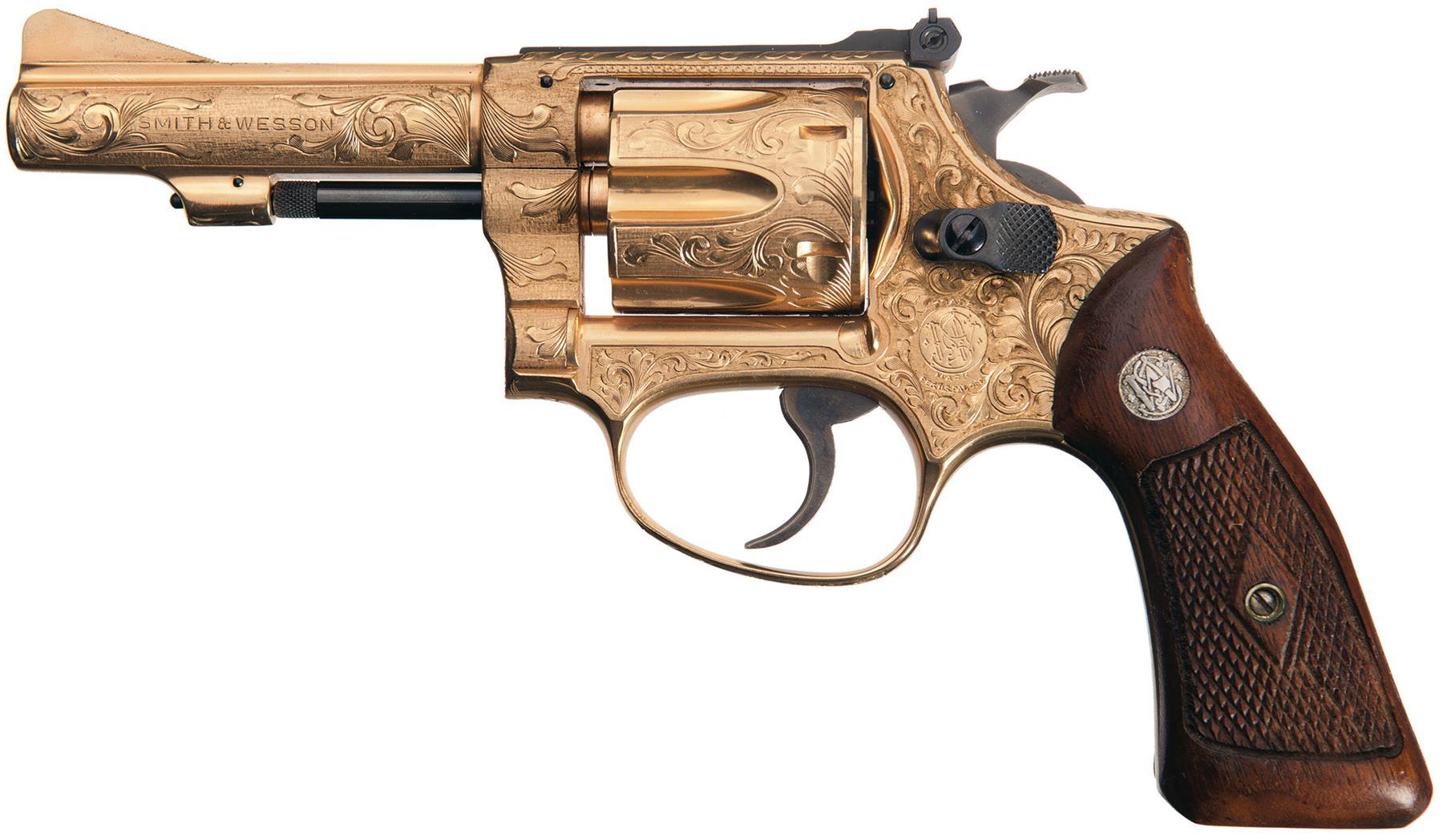 pistolet smith et wesson modèle 51 en 22LR 1969
