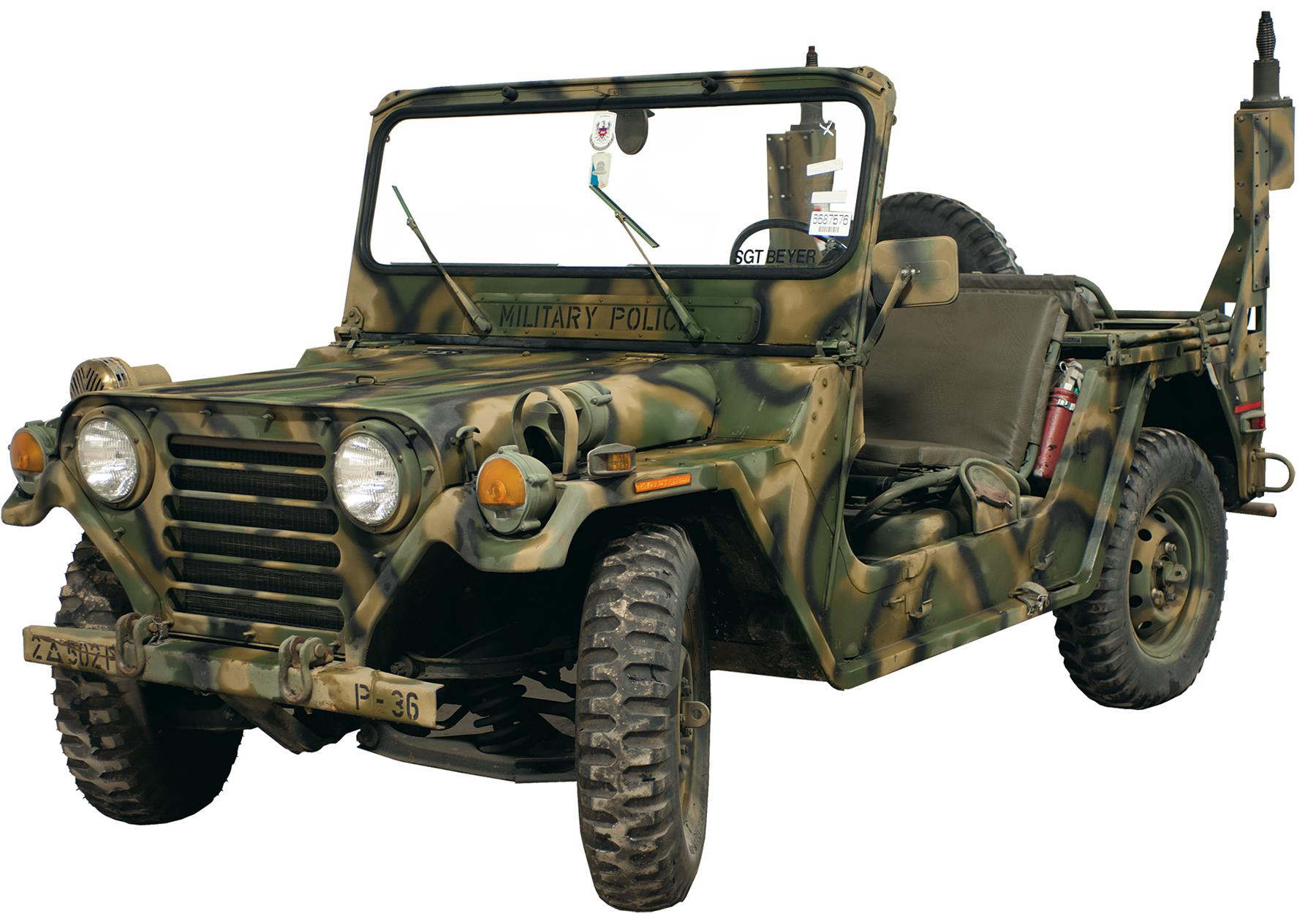 M151A2 MUTT (Military Utility Tactical Truck) - Jeep