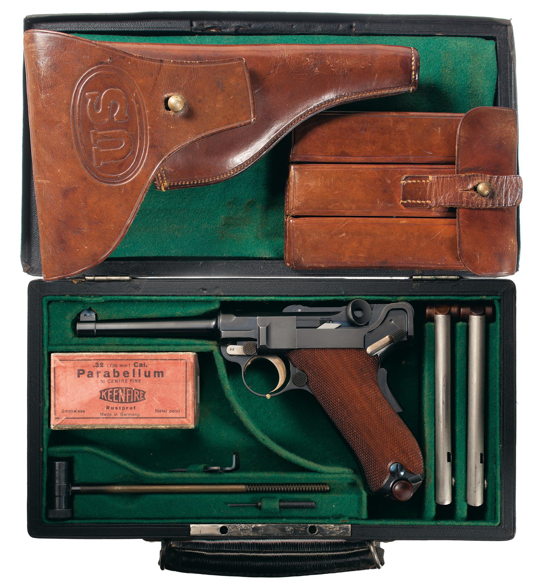 DWM 1900 Pistol 7 65 mm Luger Auto