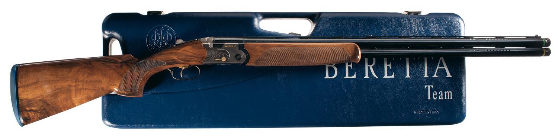Beretta Model 682 Gold E Sporting Over Under Shotgun With Case