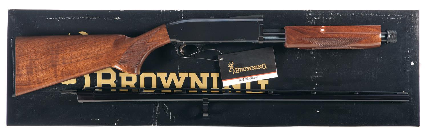 Browning BPS Field Model Slide Action Shotgun with Box