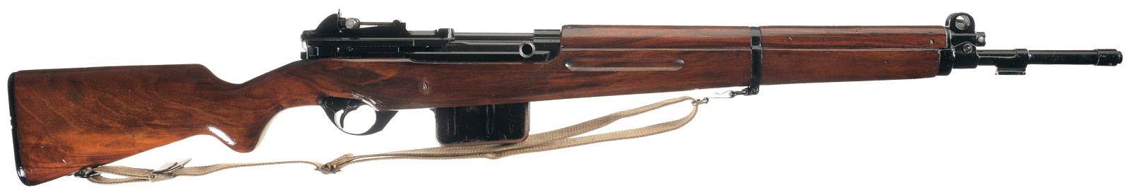 Excellent Luxembourg Contract FN49 Semi-Automatic Rifle