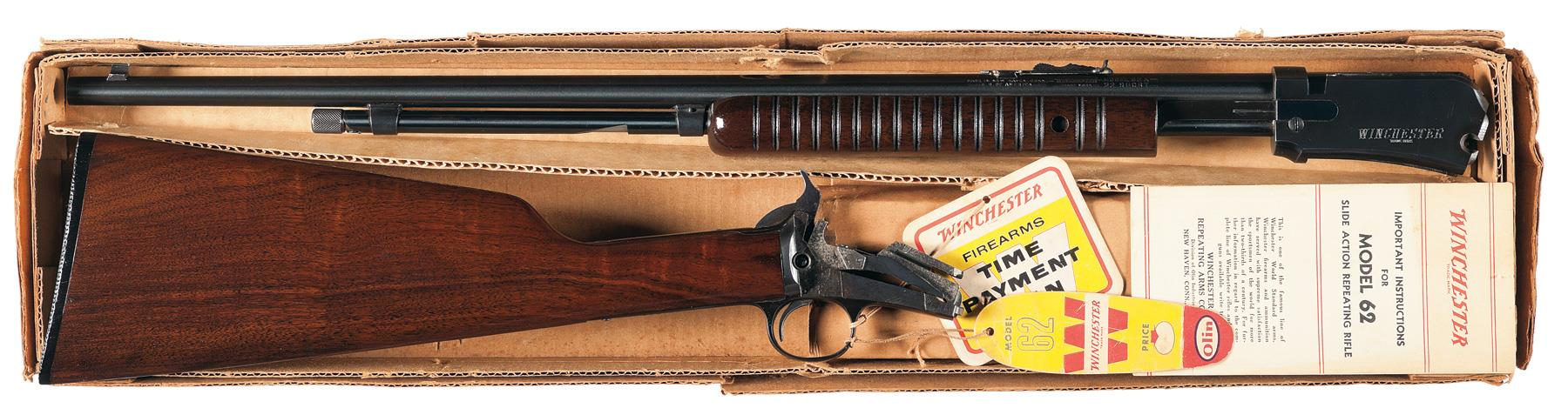 winchester model 62 a serial numbers