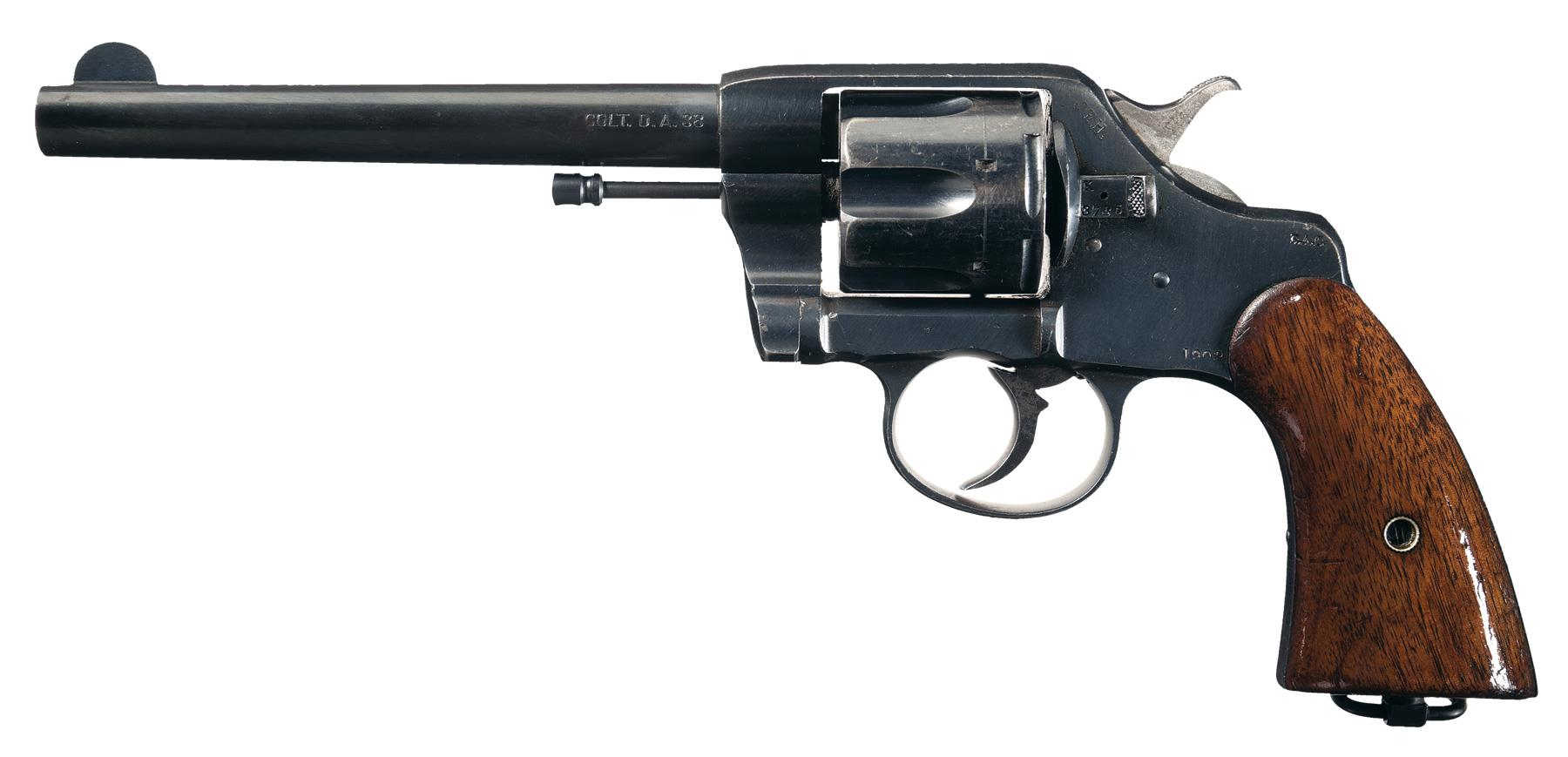 u s colt model 1903 army double action revolver