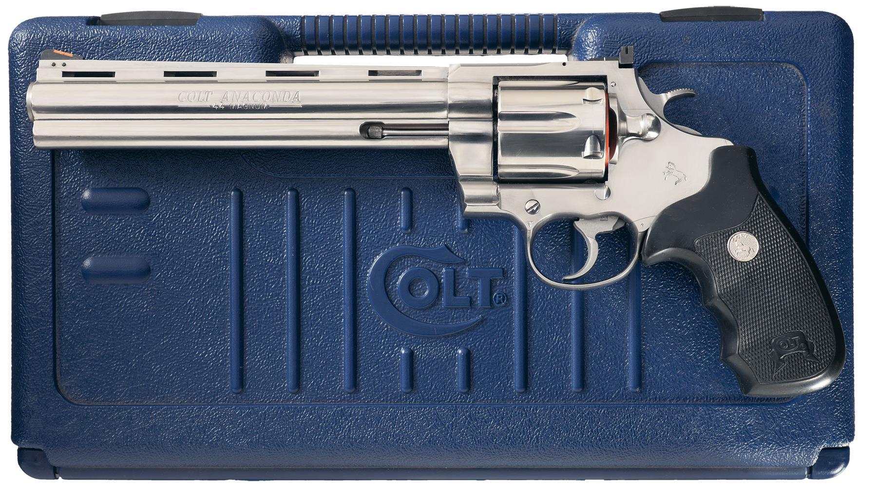 Colt Anaconda Double Action Revolver with Case