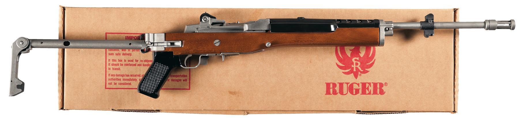 Ruger Mini 14 Folding Stock Semi-Automatic Carbine