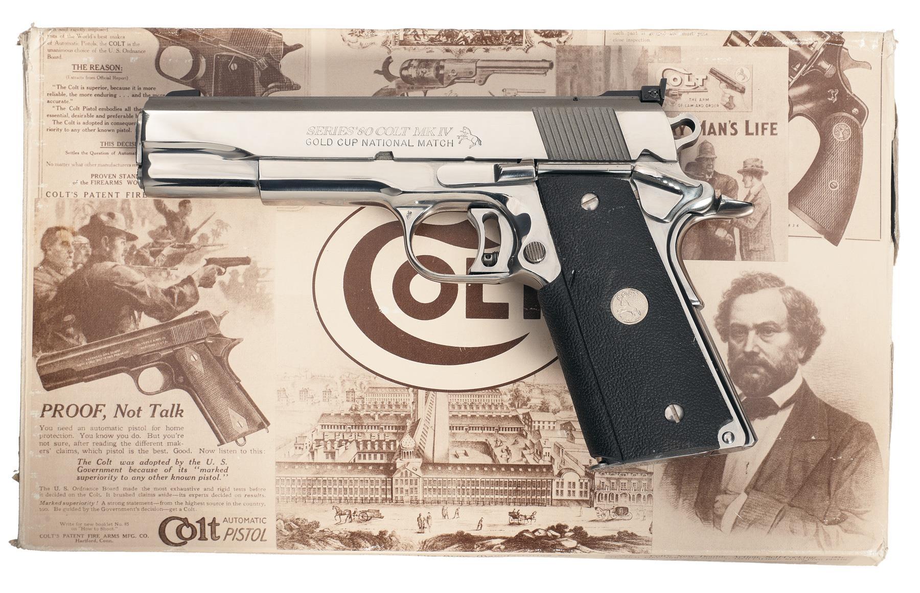 Colt Series 80 Pistol 45 ACP