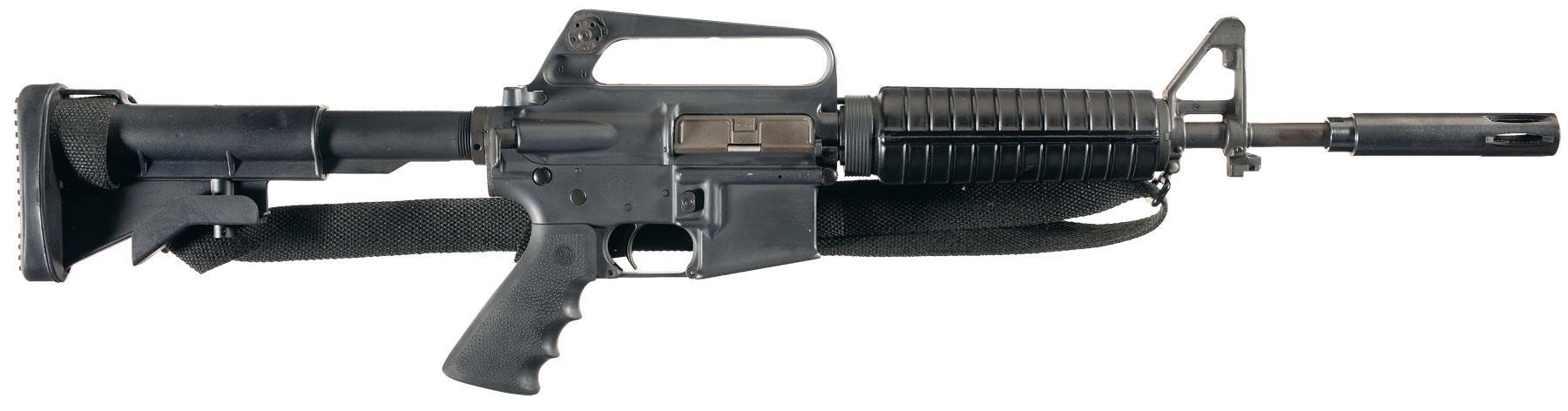Rare Original Colt M16A1 Class III Registered Fully Automatic Ca