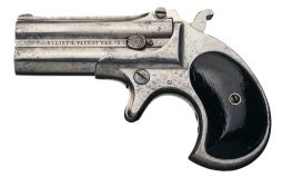 Rare 1 of 100 Remington Type I Transitional Over/Under Derringer