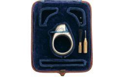 Very Fine Cased Le Petit Protector Percussion Ring Gun