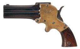 Wm. W. Marston Three-Barrel Pistol