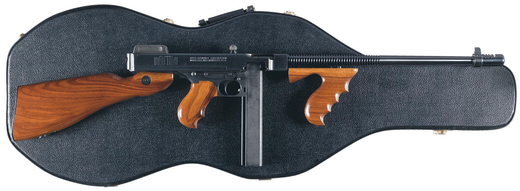 b79e9c931c7379 Lot 678  Auto Ordnance Corp Thompson 1927 A1 Standard-Rifle 45 ACP