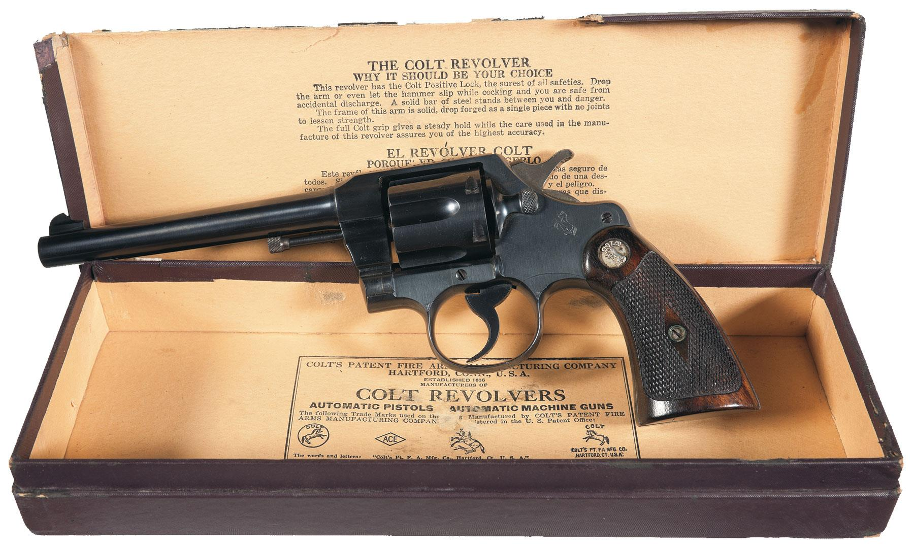 Colt Official Police Revolver 38 special