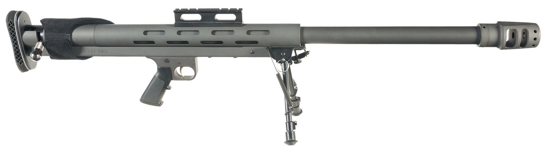 Lar Grizzly 50 Caliber Big Boar Single Shot Bolt Action Rifle