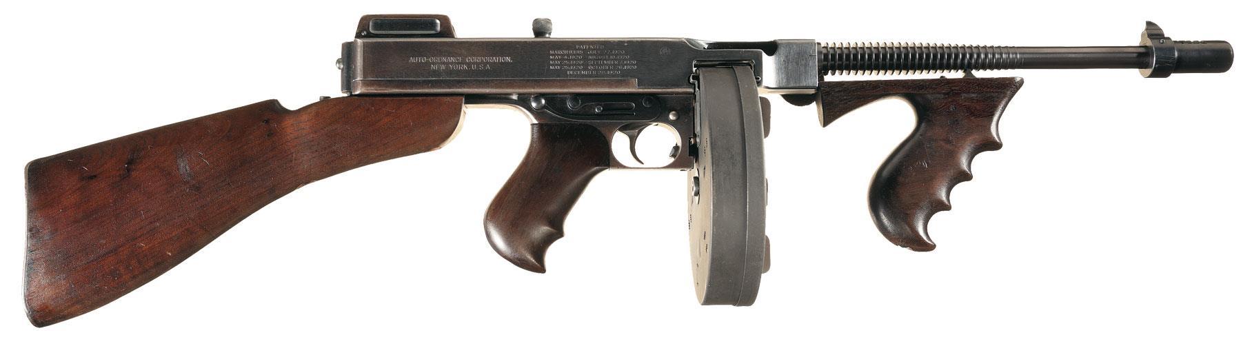 ww2 thompson machine gun for sale