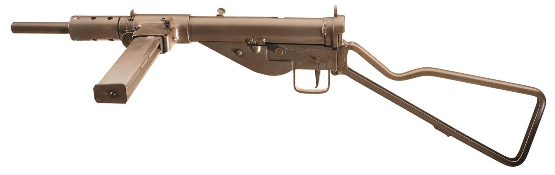 Fully Transferrable Class Three DLO Mark II Sten Sub-Machine Gun