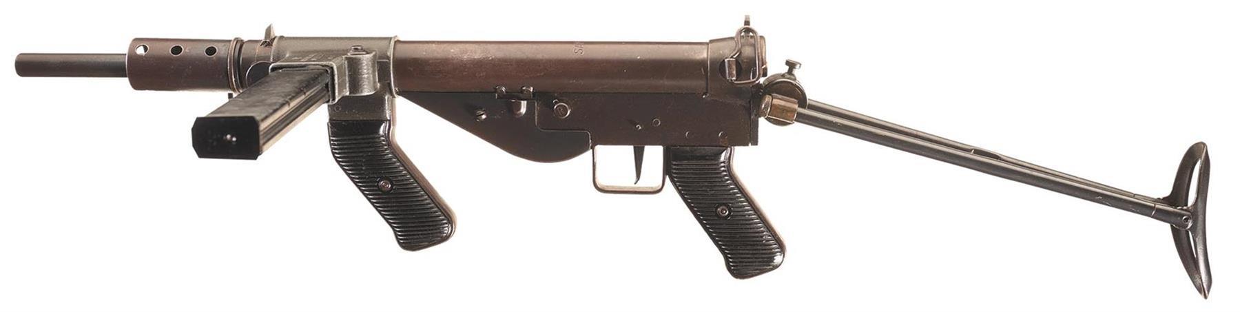 Пистолеты-пулеметы 2 мировой. Великобритания и доминионы.
