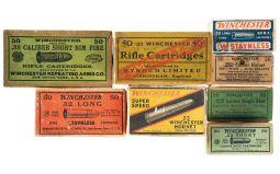 Vintage Boxed Rifle Ammunition