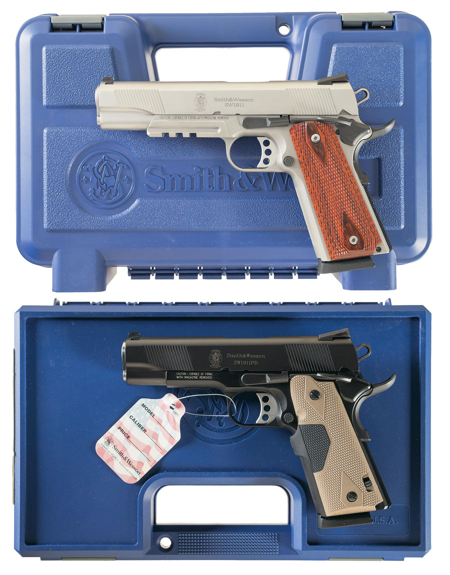 Smith & Wesson - 1911