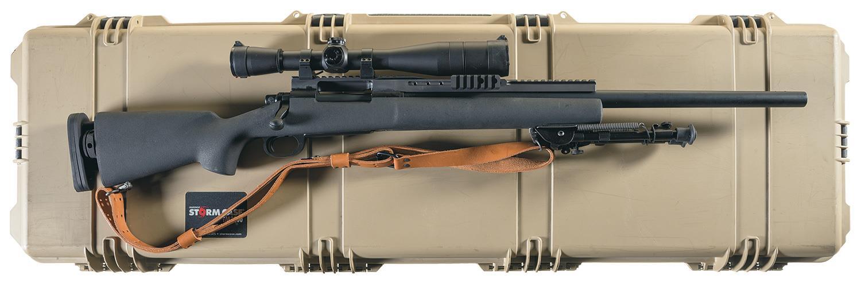 Remington Arms Inc - 700-Rifle Firearms Auction Lot-688
