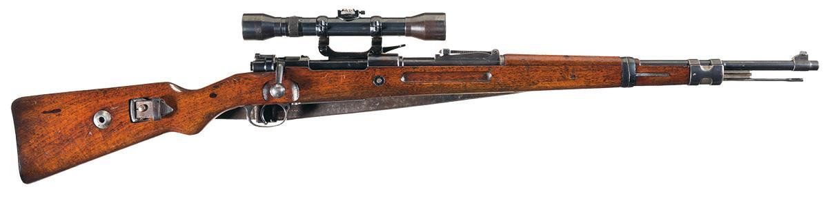 Mauser K98 Pre War Sniper Rifle-Rifle Firearms Auction Lot ...