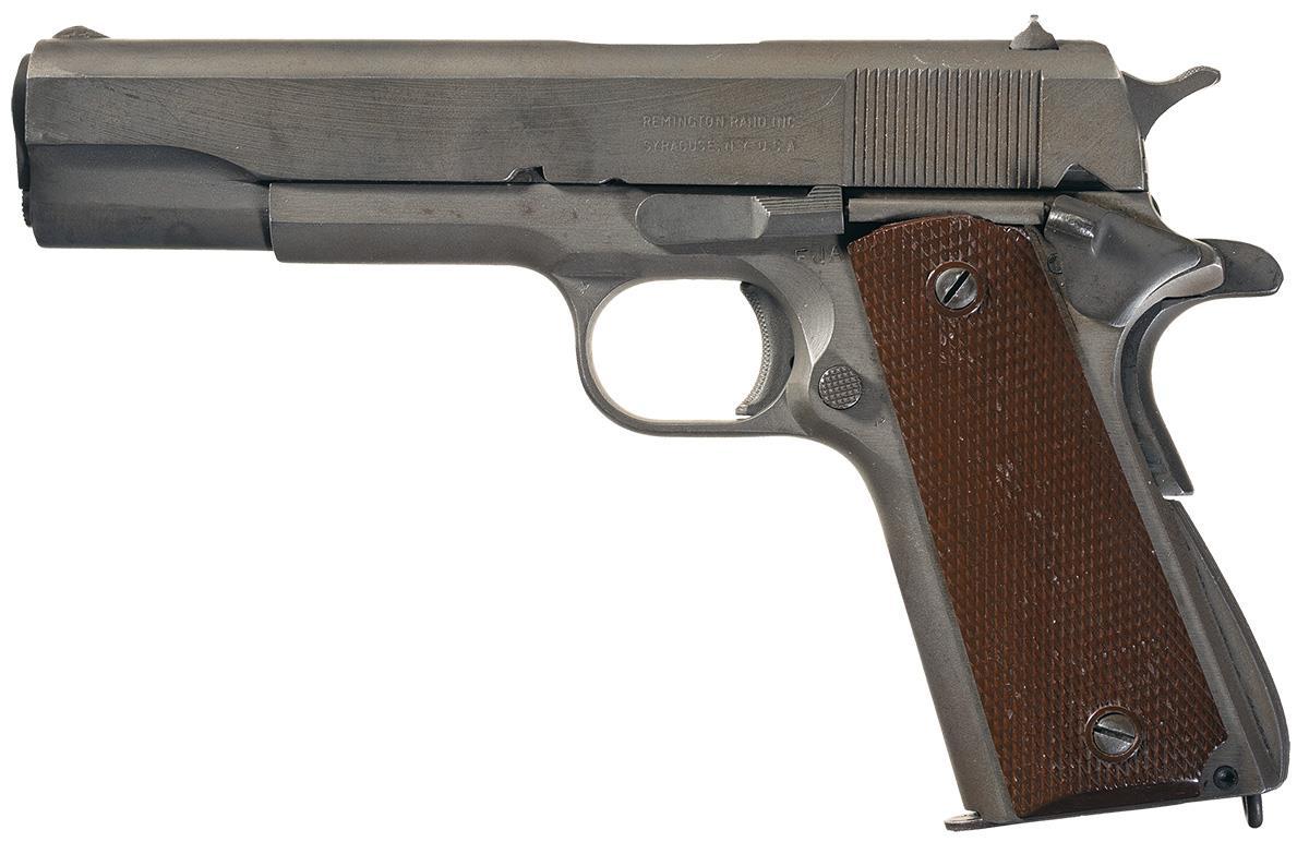 Remington-Rand 1911A1 Pistol 45 ACP
