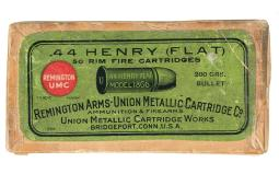 Box of Remington-UMC .44 Henry Rimfire Cartri