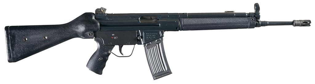 Desirable Heckler Amp Koch Hk93a2 Semi Automatic Rifle