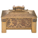 Historic Chest Decorated with Finely Inlaid S