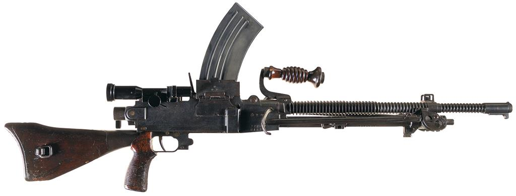 Company Privacy Policy >> Japanese - Type 96-Machine gun Firearms Auction Lot-3475