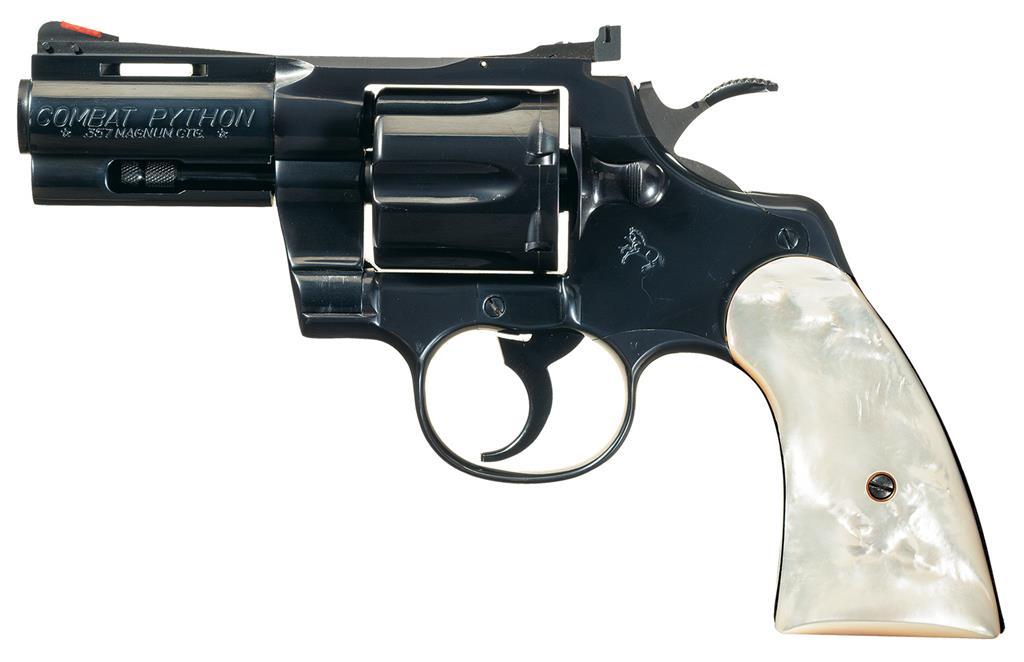 Combat Python colt combat python revolver 357 magnum