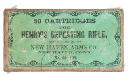 Scarce and Desirable Box of New Haven Arms Co