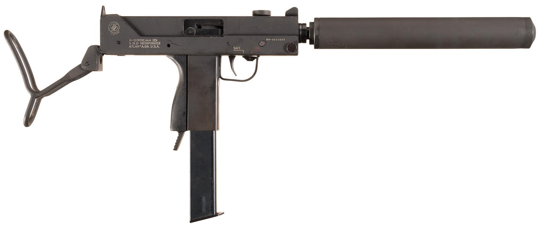 SWD Cobray M-11 Class III/NFA Sub-Machine Gun